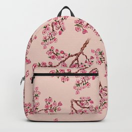 Sakura Branch Painting Backpack