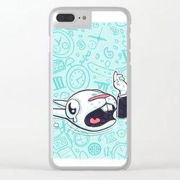Sous l'eau Clear iPhone Case