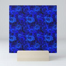 Blue Roses Mini Art Print