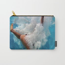 Pool - Blue Water - Beach - Ocean - Waves - Splash Carry-All Pouch
