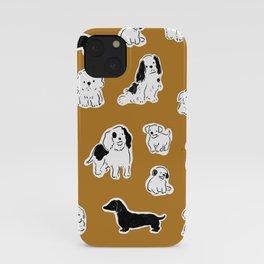 Happy-dogs iPhone Case