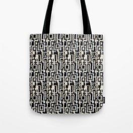 Maze Knit Tote Bag
