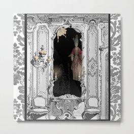 Ghosts in the Mirror II - 17th Century Royalty Metal Print