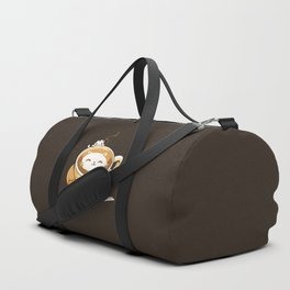 Latte Cat Duffle Bag