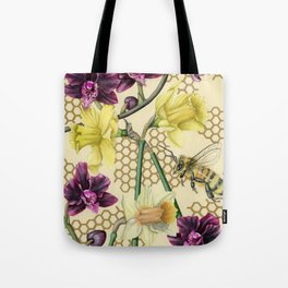 Over the Fence Tote Bag
