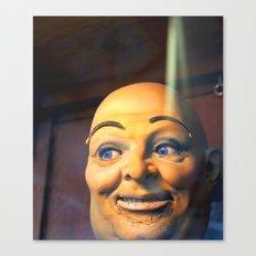 Mechanical Man Canvas Print