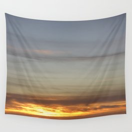 Sunset over Pictou County Wall Tapestry