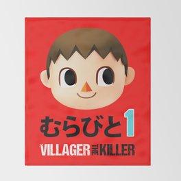 Murabito 1 (Villager the Killer) Throw Blanket