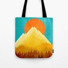 HOT LANDSCAPE Tote Bag