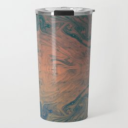 Pink Neon Marble - Earth Gum #nature #planet #marble Travel Mug