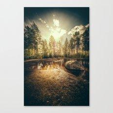 Sonne II Canvas Print