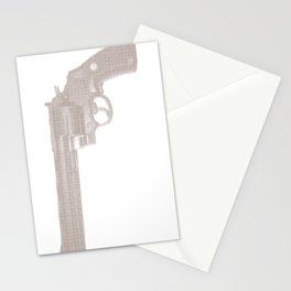 the gun /d Stationery Cards