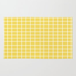 Squares of Yellow Rug
