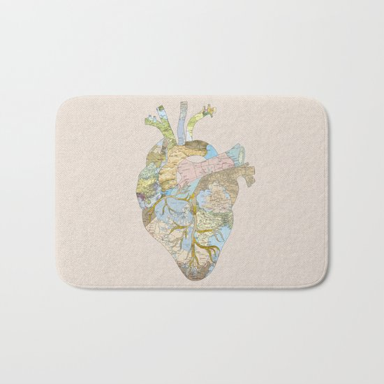 A Traveler's Heart (N.T) Bath Mat