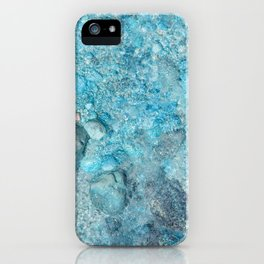 Ice cold water iPhone Case