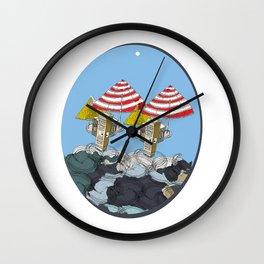 building3269 Wall Clock
