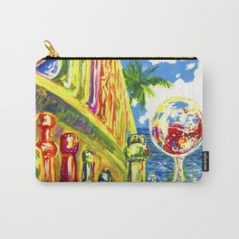 Summer Wine Carry-All Pouch