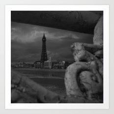 Blackpool Tower Art Print