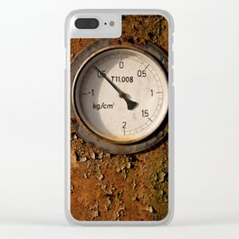 The meter Clear iPhone Case