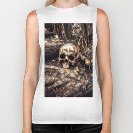 Bones In The Forest Biker Tank