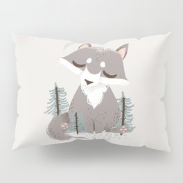 "The ""Animignons"" - the Wolf Pillow Sham"