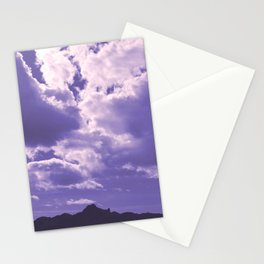 Ultra Violet Sky Stationery Cards