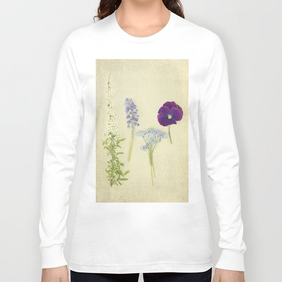 Flower Collection Long Sleeve T-shirt