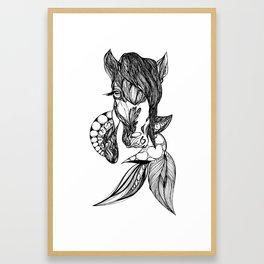 Kelpie Horse Framed Art Print