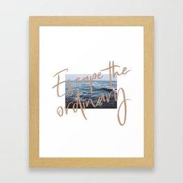 Escape the ordinary Framed Art Print