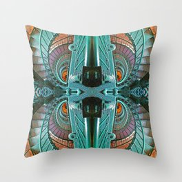 Lighthouse stairs Throw Pillow