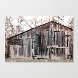 Lone Star Barn x Texas Hillcountry Canvas Print