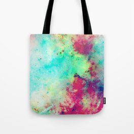 Join The Heavens - Abstract Space Painting Tote Bag