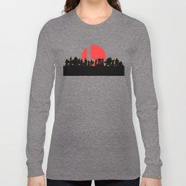 Super Smash Bros Ultimate Fanart Long Sleeve T-shirt