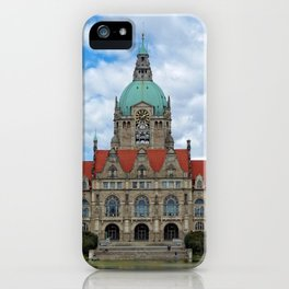 New Town Hall (Hanover) iPhone Case