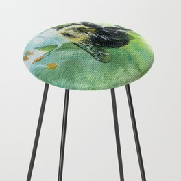 Synchronicity by Teresa Thompson Counter Stool