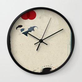 La présence de cette femme me donne la paix Wall Clock
