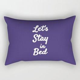 The Lazy Edition I Rectangular Pillow