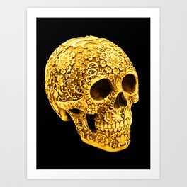 For the Love of Gold Art Print