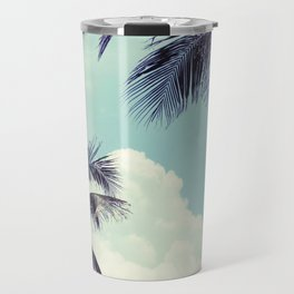 Welcome to Miami Palm Trees Travel Mug