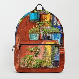 Small Suspended Garden In Guanajuato Backpack