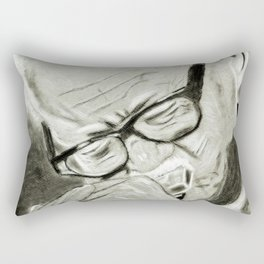 Toots Thielemans Rectangular Pillow