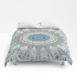 Dreamcatcher Teal Comforters