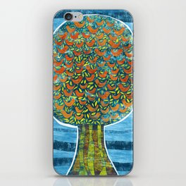 Tree and Birds iPhone Skin