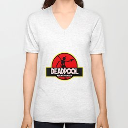 Deadpool : Merc with a Mouth Unisex V-Neck