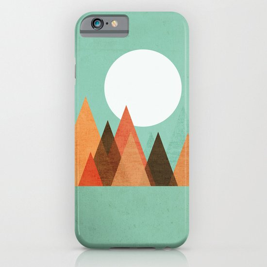 From the edge of the mountains iPhone & iPod Case