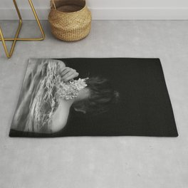 Flower and sea Rug
