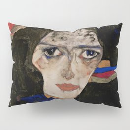 "Egon Schiele ""Mourning Woman"" Pillow Sham"