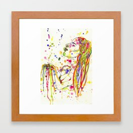 Colour Me In Framed Art Print