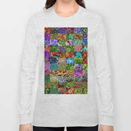 Bacteria Montage Long Sleeve T-shirt