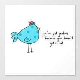 Sassy Bird Canvas Print